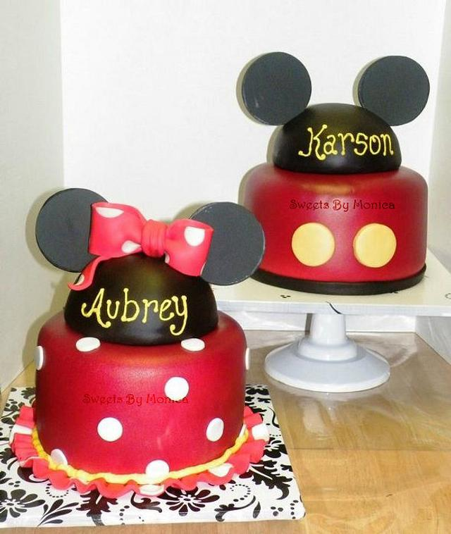 Minnie & Mickey Twin 1st Birthdays