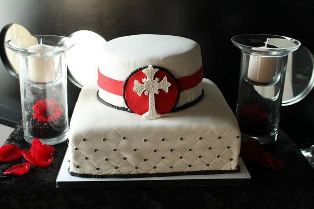 Boy's Confirmation Cake