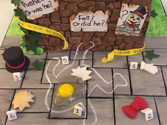 Humpty Dumpty Murder Mystery