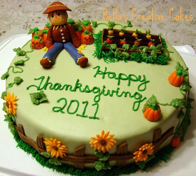 My Thanksgiving Cake