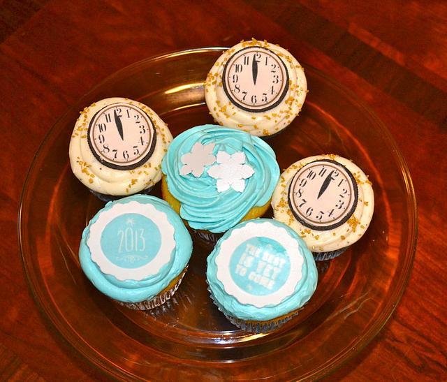 Happy New Year Cupcakes 2013!