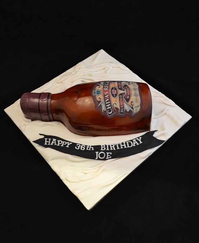 chivas regal cake