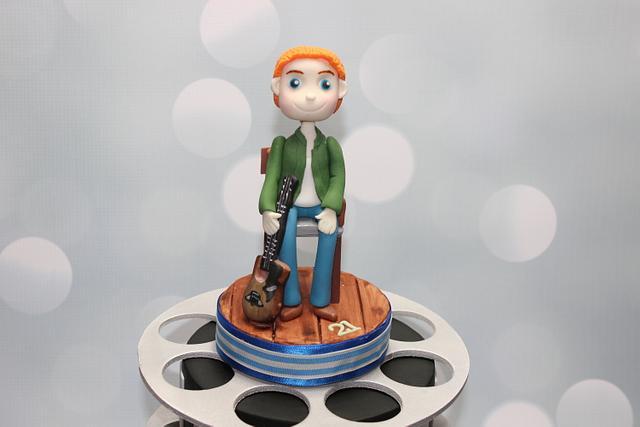 Film Reels 21st Birthday Cake