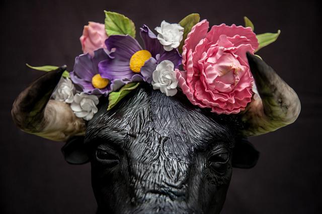 Bull Frida Kahlo