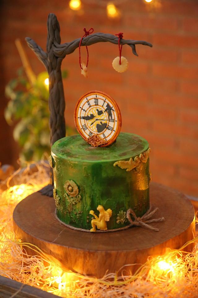 Caker buddies children storybook collaboration - Peter Pan