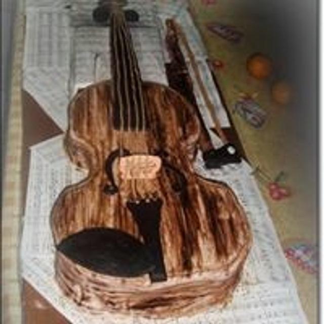 Real size violin