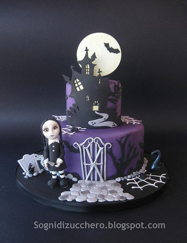 horror birthday cake