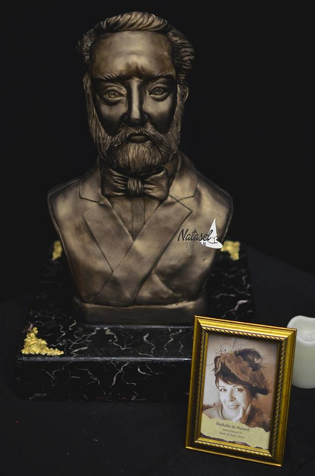 Jules Verne's Bust, for a french collaboration