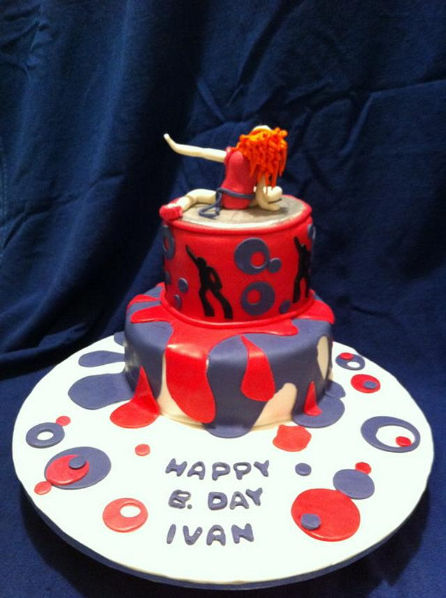 Madonna Icon Cake