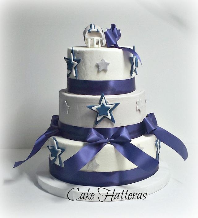 Brilliant Dallas Cowboy Birthday Cake Cake By Donna Tokazowski Cakesdecor Funny Birthday Cards Online Alyptdamsfinfo