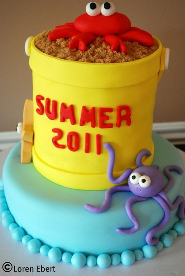 Sandpail Cake!