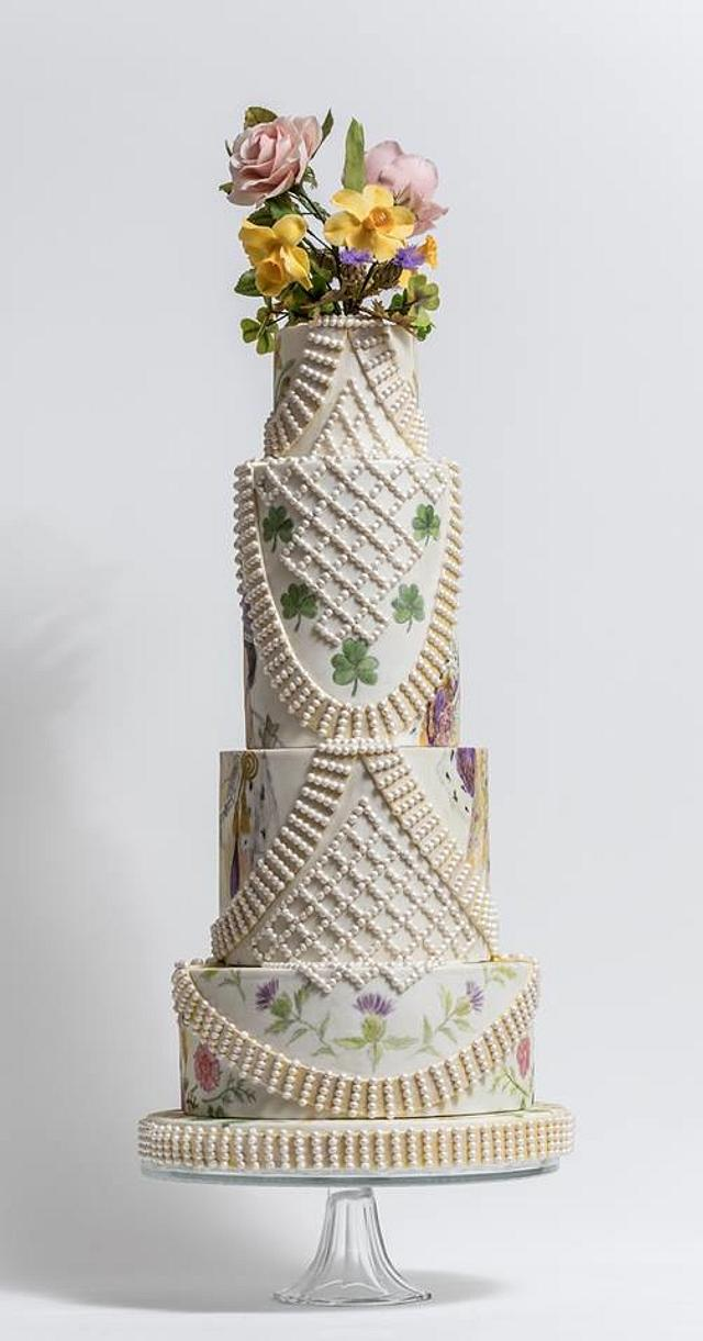 Couture Cakers Int.: Queen Elizabeth II's Coronation Outfit