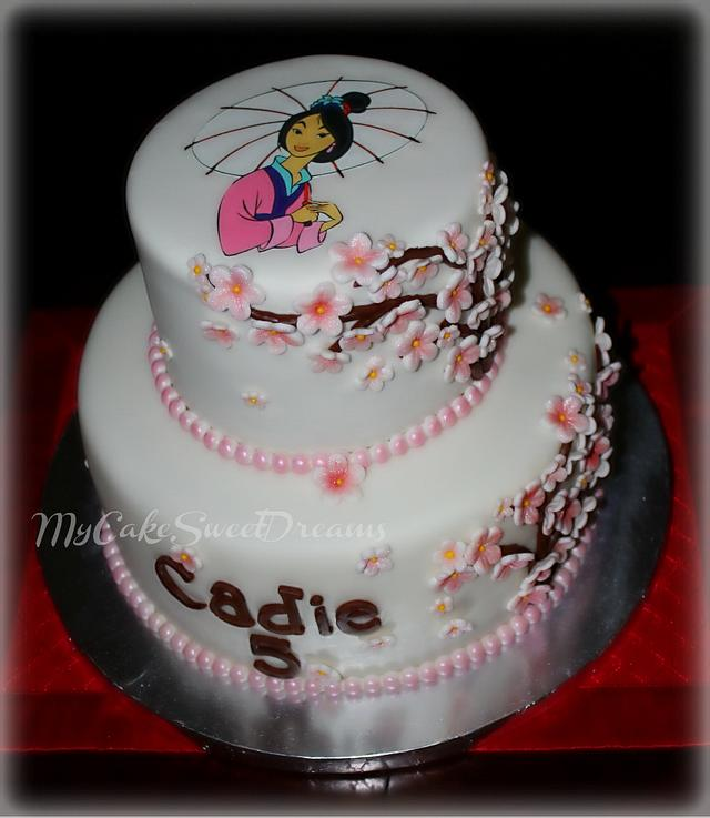 Awe Inspiring Mulan Birthday Cake Cake By My Cake Sweet Dreams Cakesdecor Funny Birthday Cards Online Bapapcheapnameinfo