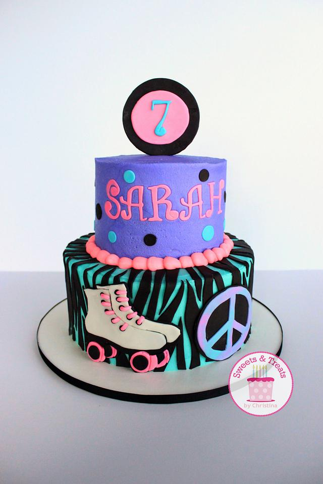 Superb Roller Skate Cake Cake By Sweets And Treats By Cakesdecor Funny Birthday Cards Online Inifofree Goldxyz