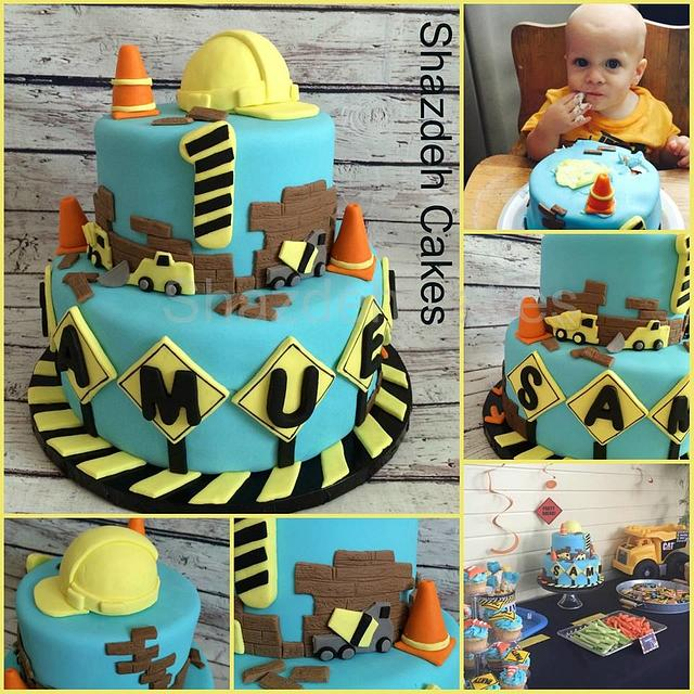 Miraculous Construction Birthday Cake Cake By Shazdeh Cakes Cakesdecor Birthday Cards Printable Inklcafe Filternl