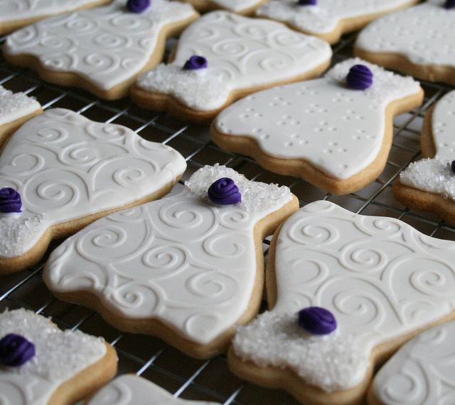 Bridal Shower butter cookies