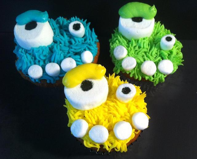 Marshmallow Monsters.