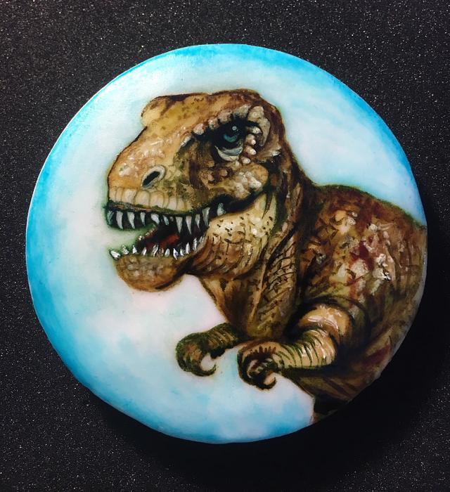 T-Rex biscuit