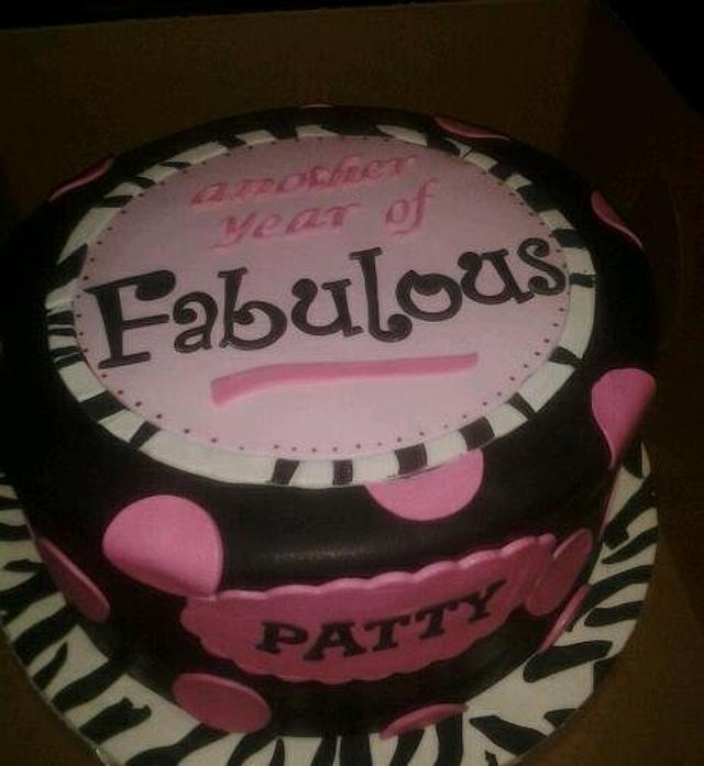 Fabulous Birthday Cake