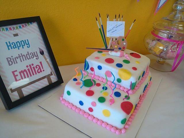 Marvelous Artist Birthday Cake Cake By Miamor Cakesdecor Personalised Birthday Cards Paralily Jamesorg