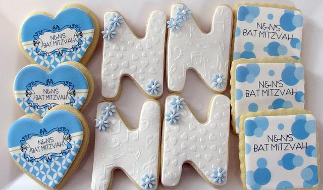 Bat Mitzvah Cookies