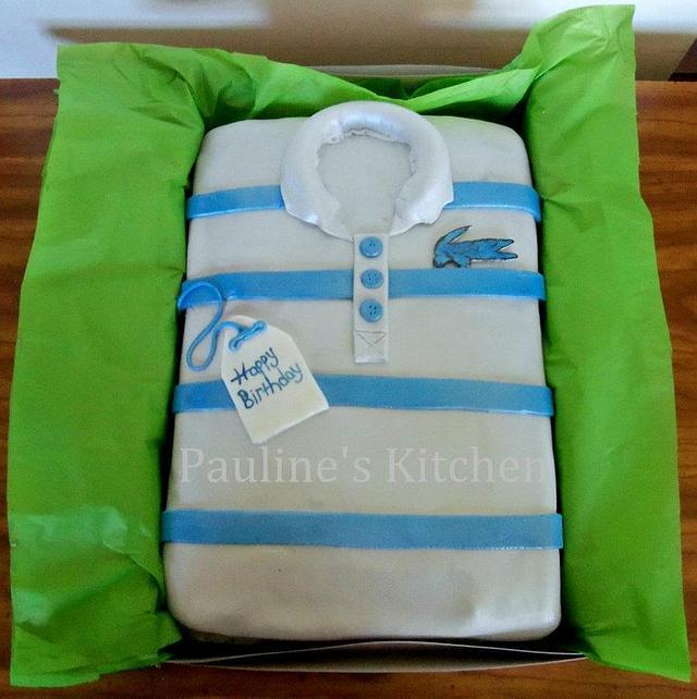 Lacoste Polo Cake