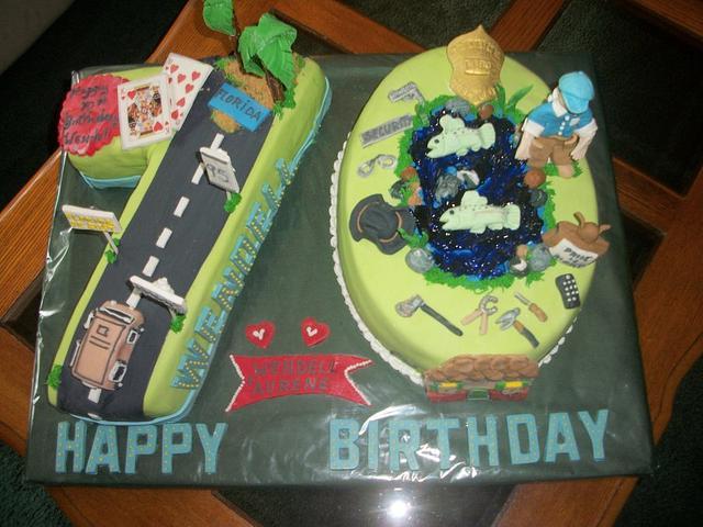 Super personalized cake Enchanted Cakes