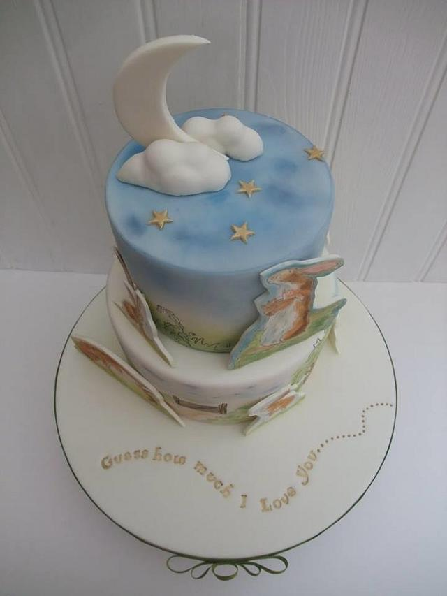 Connie's Christening Cake