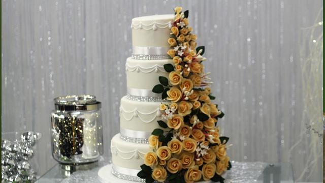 Wedding Cake Mariela