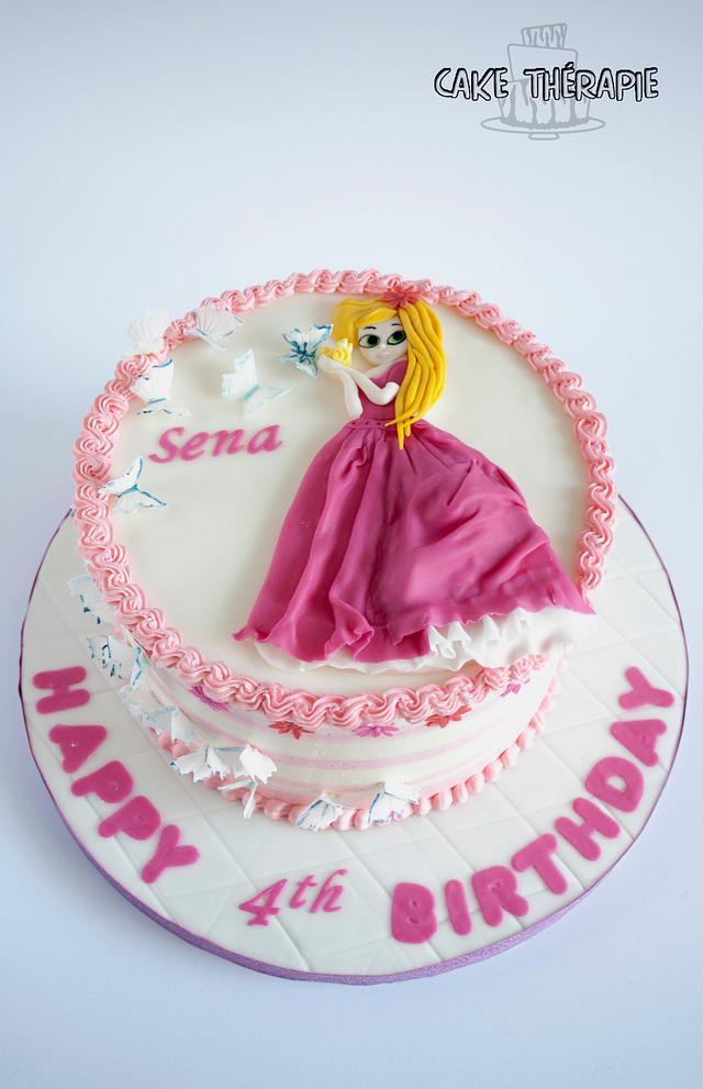 Princess themed cake.