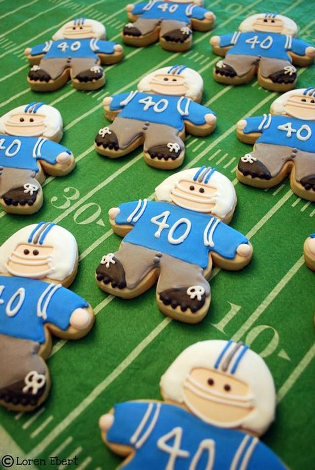 Football Player Cookies!
