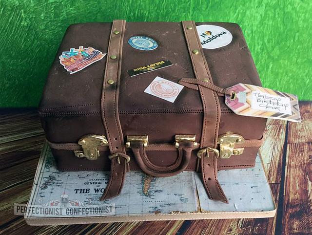 Clair - Suitcase Birthday Cake