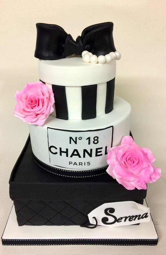 Pleasing 18Th Chanel Birthday Cake Cake By Sweet Factory Cakesdecor Funny Birthday Cards Online Elaedamsfinfo