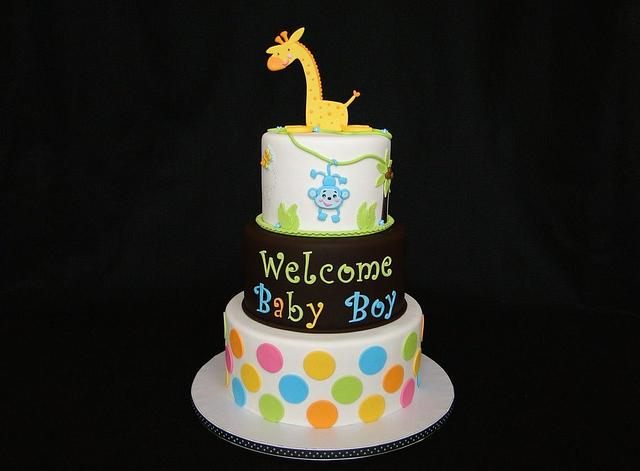 Giraffe Baby Shower Celebration