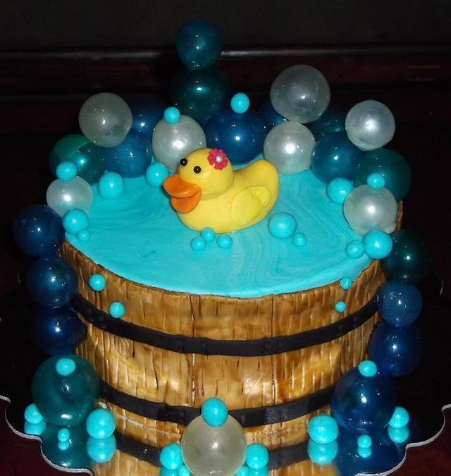 Duck in a barrel