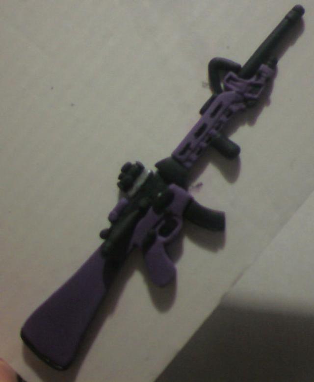 Gumpaste AK47