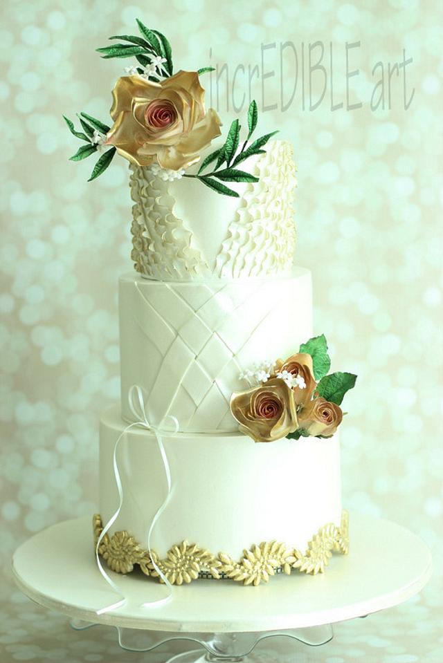 """Rendevouz""- Wedding Cake"