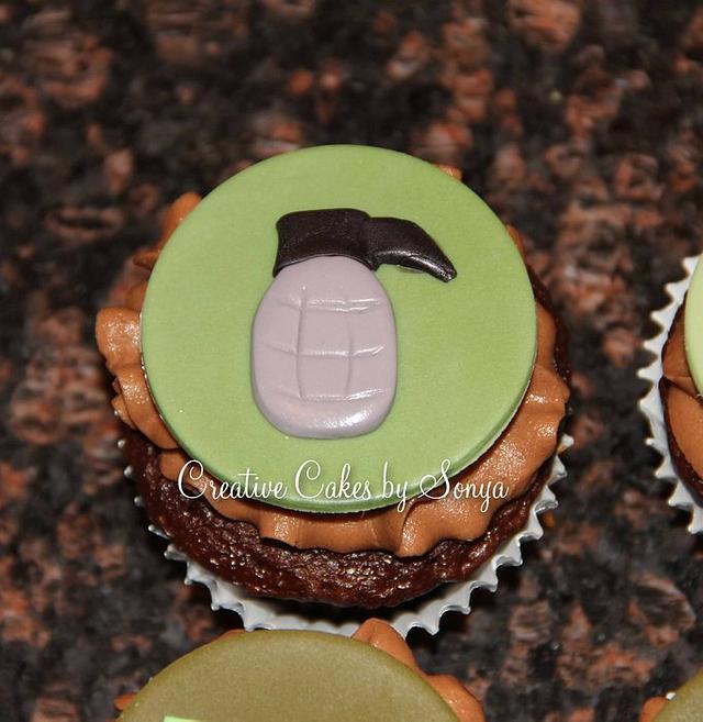 Halo Cupcakes
