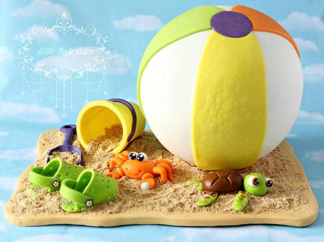Happy Summer ~ Beach Cake