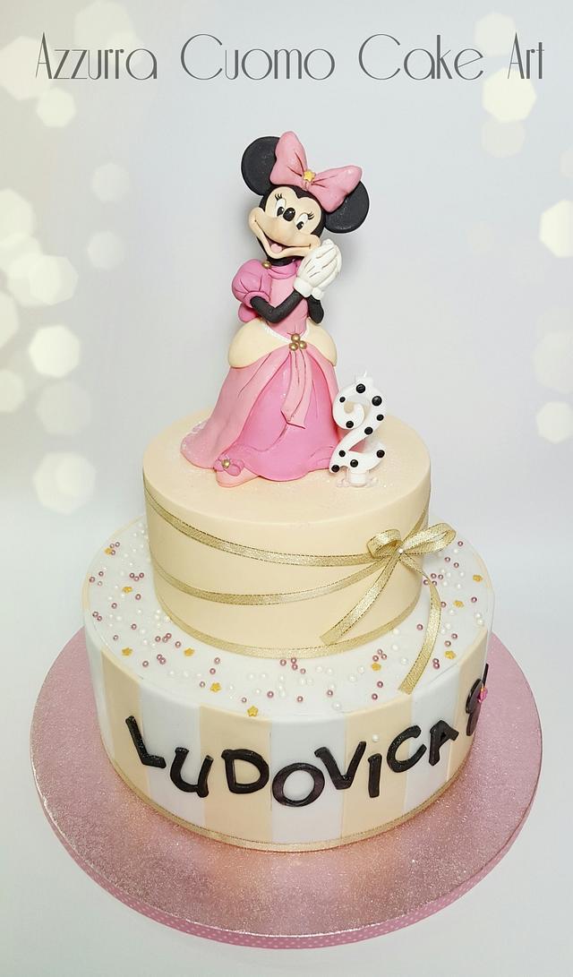 Princess Minnie birthday cake ❤