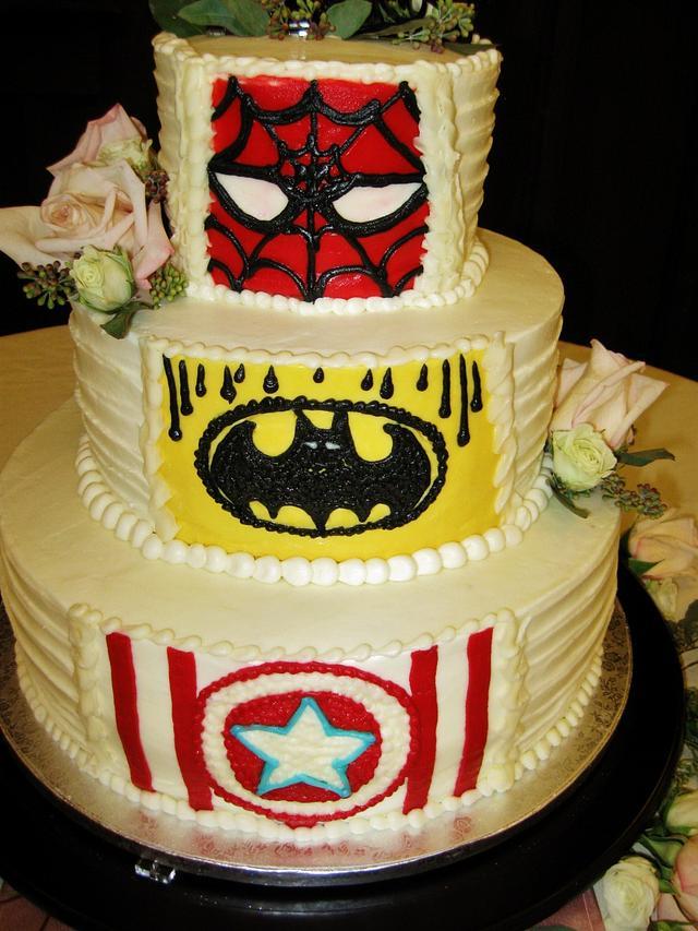 Reveal Wedding & Grooms cake