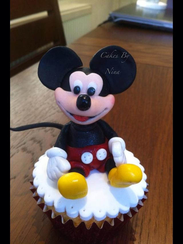 My Mouse cupcake