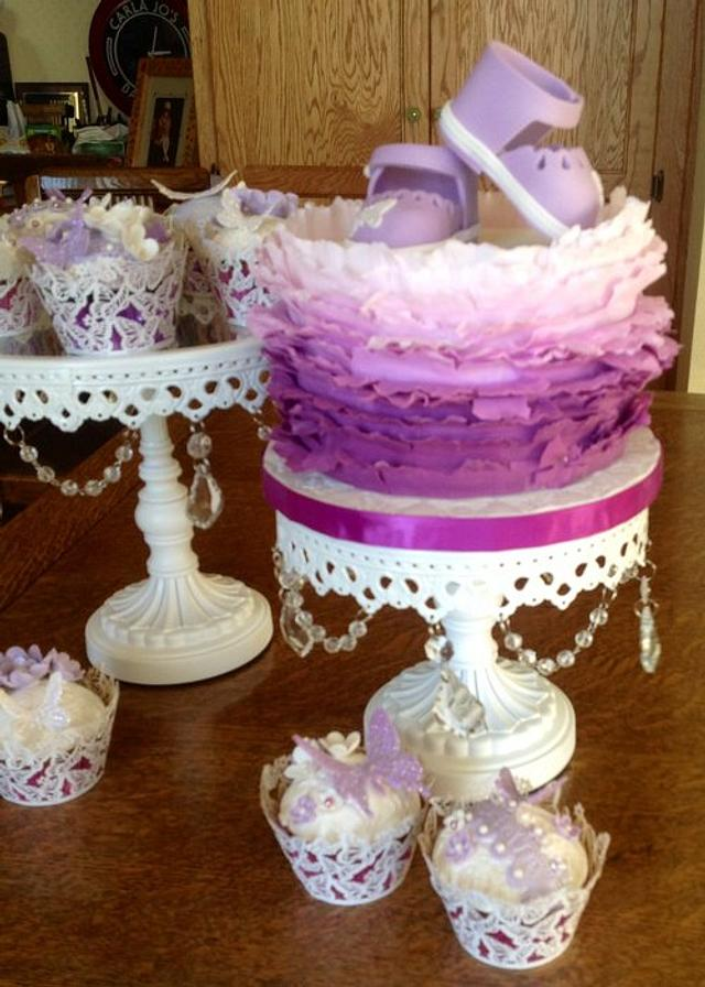 Lavender Frills to Welcome Baby Gabriella