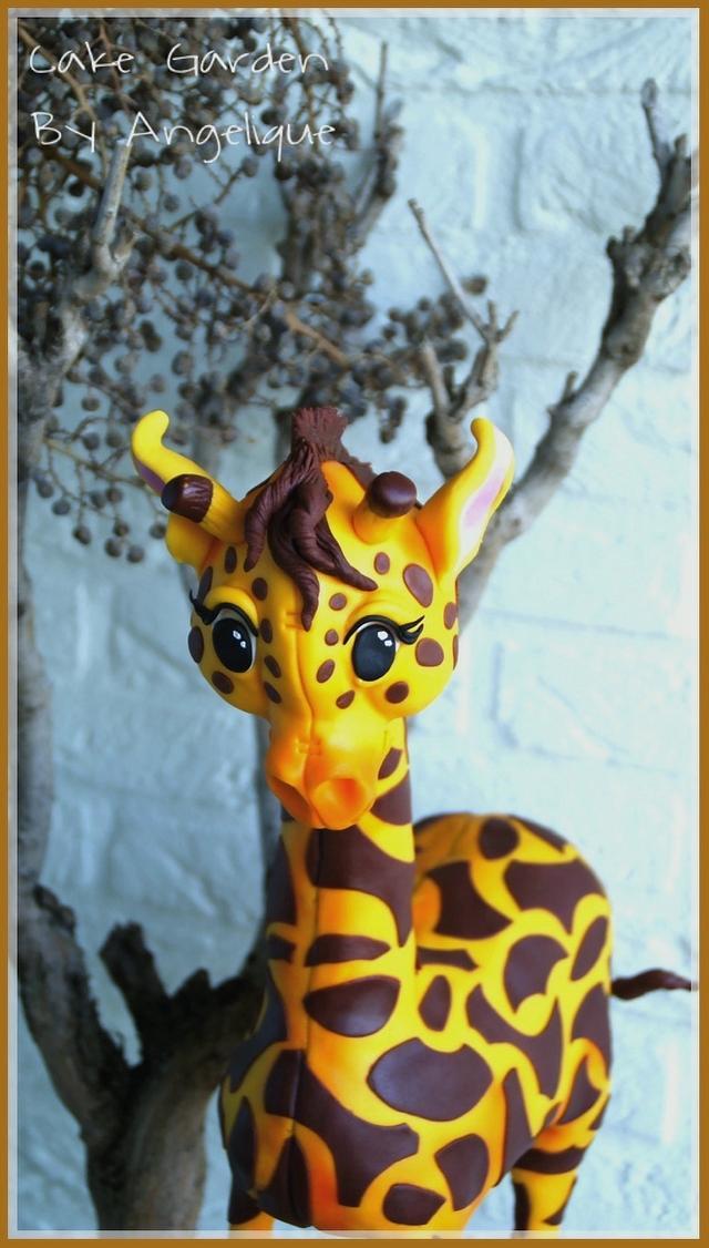 Giraffe Cake (workshop)