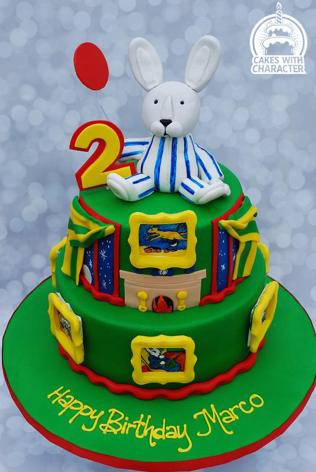 Goodnight Moon Birthday cake