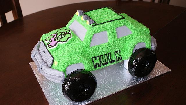 Incredible Hulk Monster Truck