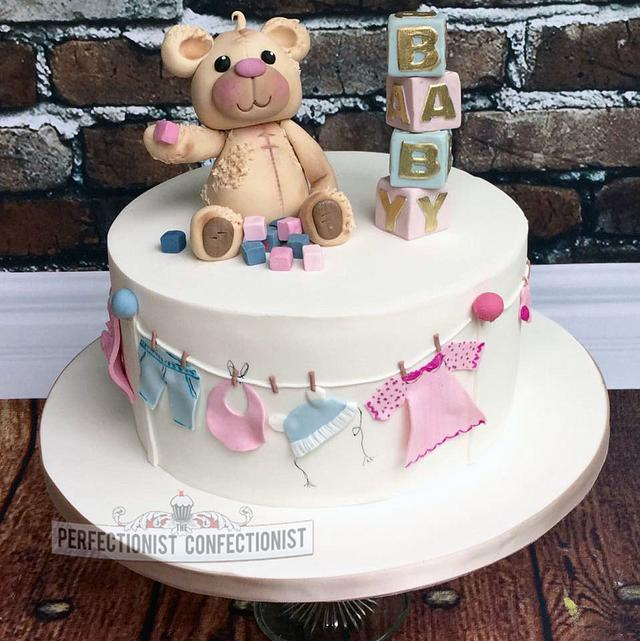 Pleasing Valerie Baby Shower Cake Cake By Niamh Geraghty Cakesdecor Funny Birthday Cards Online Necthendildamsfinfo