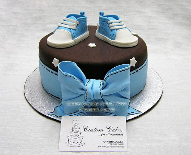 For a baby boy ...
