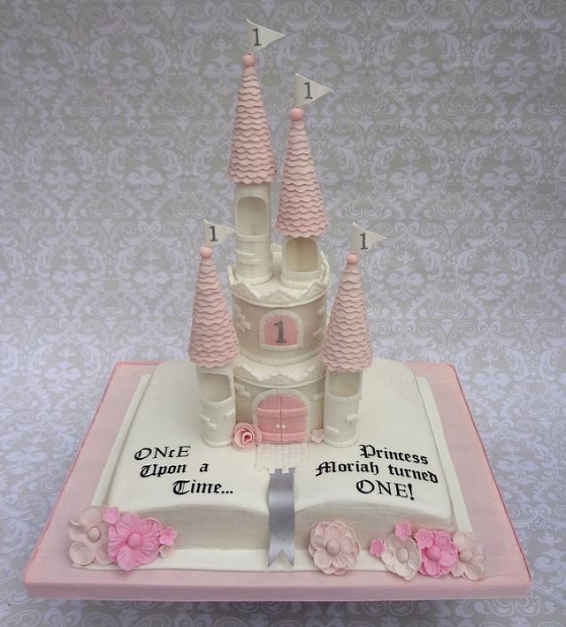 Storybook Castle Cake