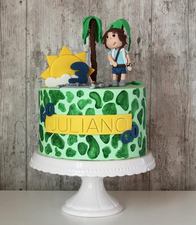Pleasant Diego Birthday Cake Cake By Tatiana Diaz Posh Tea Cakesdecor Personalised Birthday Cards Epsylily Jamesorg